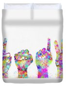 Happy New Year 2013 Duvet Cover