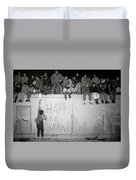 Freedom At The Berlin Wall Duvet Cover