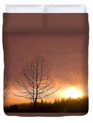 Happy Valley, Oregon, Usa Duvet Cover