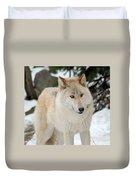 Happy Wolf Duvet Cover