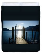 Harbor And Sun Duvet Cover