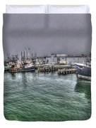 Harbor Dawn Duvet Cover