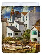 Harbor Houses Duvet Cover