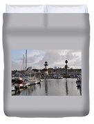 Harbor Lighthouse Duvet Cover