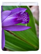Hardy Orchid 3 Duvet Cover