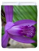 Hardy Orchid 5 Duvet Cover