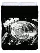 Harley Davidson Bike - Chrome Parts 22 Duvet Cover