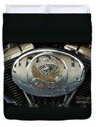 Harley Davidson Bike - Chrome Parts 44c Duvet Cover