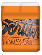Harley Davidson Logo Duvet Cover