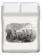 Harpers Ferry Insurrection, 1859 Duvet Cover
