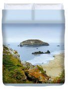 Harris Beach Duvet Cover