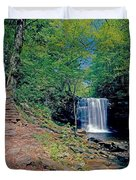 Harrison Wright Falls - Summertime Duvet Cover