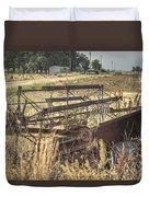 Harvester Sweep Wheel 1 Duvet Cover