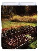Harvesting The Crop Duvet Cover