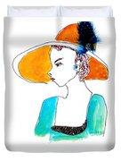 Hat Lady 15 Duvet Cover