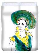 Hat Lady 16 Duvet Cover