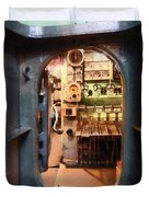 Hatch In Submarine Duvet Cover