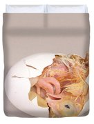 Hatching Chicken 12 Of 22 Duvet Cover
