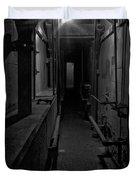 Haunted 1946 Battle Of Alcatraz Death Chamber Duvet Cover