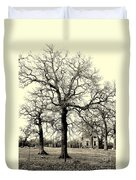 Haunted Homestead Duvet Cover
