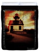 Haunted Lighthouse Duvet Cover