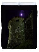 Haunted Tower Duvet Cover