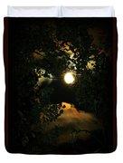 Haunting Moon Duvet Cover