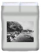 Hawaii: Beach, C1914 Duvet Cover