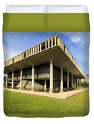 Hawaii Capitol Building Duvet Cover