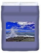 Hawaiian Surf Duvet Cover