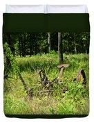 Hay Cutter 4 Duvet Cover