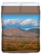 Haystack Autumn View Duvet Cover