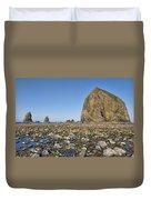 Haystack Rock 2 Duvet Cover