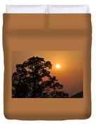Hazy Sunset Duvet Cover