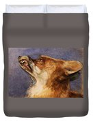 Head Of A Fox Duvet Cover