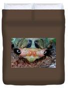 Head Of Cicada Duvet Cover