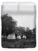 Headquarters - Army Of The Potomac - Fairfax Courthouse Virginia 1863 Duvet Cover