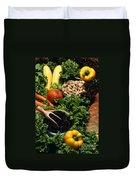 Healthy Foods Duvet Cover