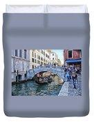 Heart In Venice Duvet Cover