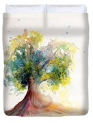 Heart Tree Duvet Cover