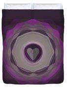Heart Wheel Duvet Cover