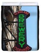 Heartland Brewery Chophouse Duvet Cover