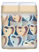 Hearts A Plenty Duvet Cover