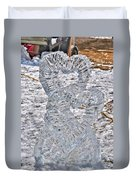 Hearts Cold As Ice Duvet Cover