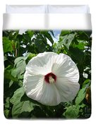 Hearty Hibiscus Duvet Cover