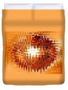 Heat Wave - Abstract Art Duvet Cover