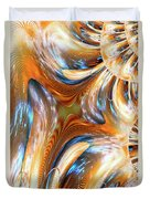 Heatwave Abstract Duvet Cover