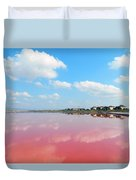 Heaven And Hell Duvet Cover