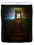 Heaven Is Closed Duvet Cover by Nathan Wright