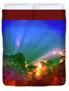 Heaven's Jewels Duvet Cover by Kevyn Bashore